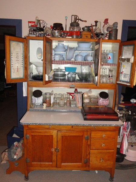 Antique Hoover Kitchen Cabinet